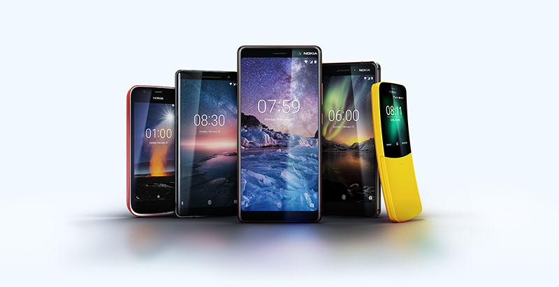 Nokia okostelefonok 2018-as portfólió