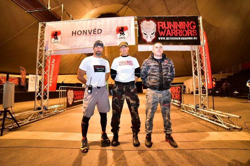 Tóth Viktor OCR szervezés: Running Warriors 2017